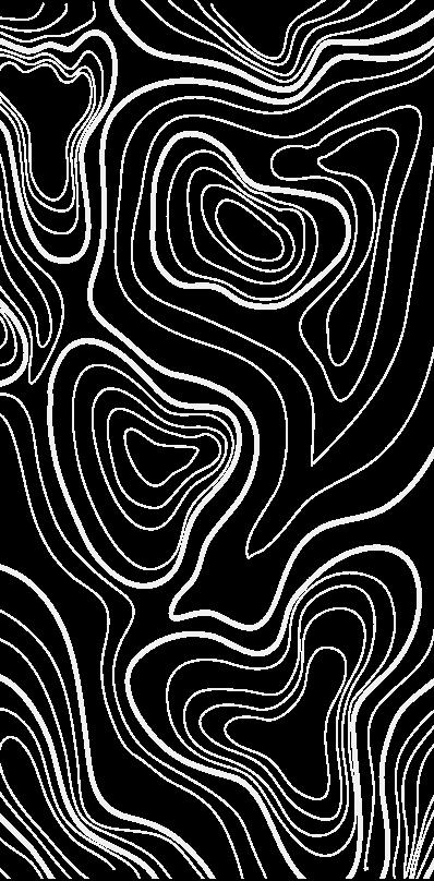 Linhas cinzas sinuosas